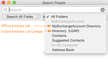 Address Books on Mac