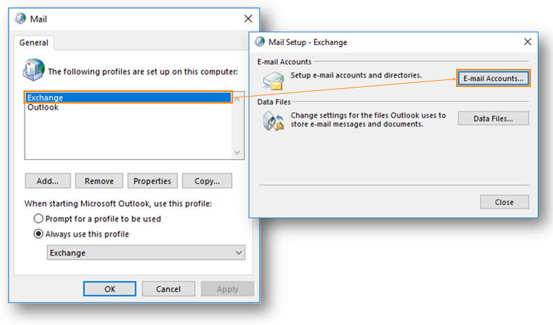 Outlook Profiles