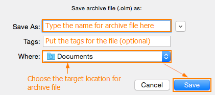 Name of the file