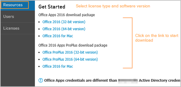 Download Office Apps