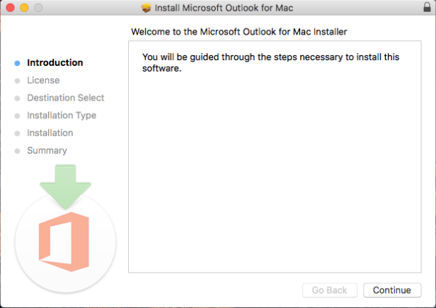 Install Microsoft Outlook for Mac