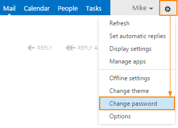 Change Password In OWA