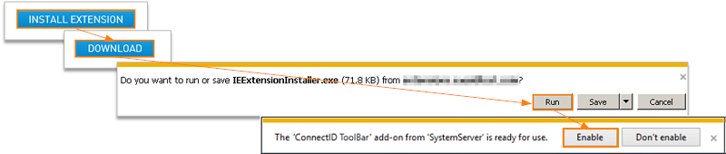 Install IE Extension