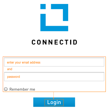 Log in to ConnectID